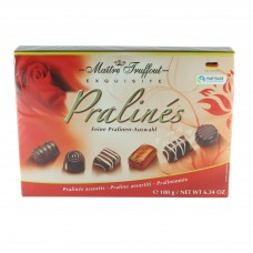 Assorted pralines röd 180g 8st