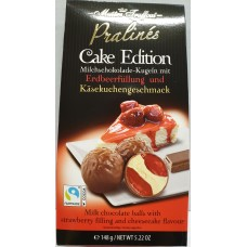 Pralines cake edition - strawberry & cheesecake 148g 6st