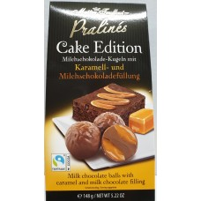 Pralines cake edition - caramel & milk chocolate 148g 6st