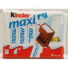Kinder Maxi 6-pack 126g  20 st