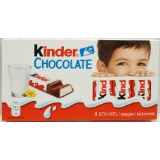 Kinder Chocolate 8-pack (10st) 100g