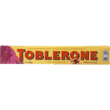 TOBLERONE FRUIT AND NUTS 100G 20 st