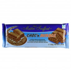 Choc'n Bubble aerated milk chocolate 150g 12st