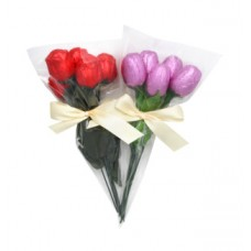 Choklad rose and tulip 8x5x18g 8 st