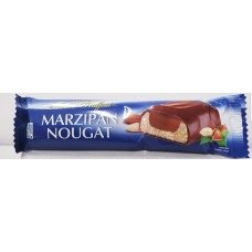 Marzipan-nougat bar with milk chocolate 75g 24 st