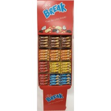 BIG BREAK Muslibar Displayställ 40g 288 st
