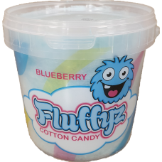 Cotton candy Bluberry 50g 6 st