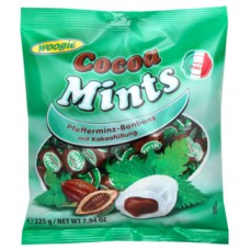 Peppermint candies with cocoa filling 225g