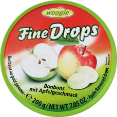Candies with apple flavour 200g 10 st