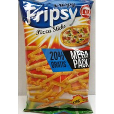 Crisby Fripsy Pizza 120g 12 st