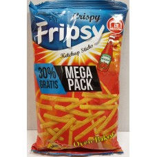 Crisby Fripsy Ketchup 130g 12 st