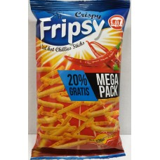 Crisby Fripsy Hot Chili 120g 12 st