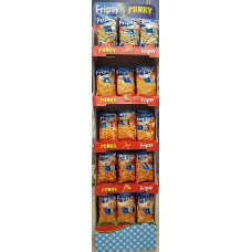 Crisby Fripsy Mix display ställ 120g 60 st