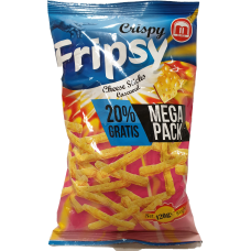 Crisby Fripsy Chesse 120g 12 st