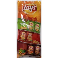 Lays 6 pack 165g 14 st