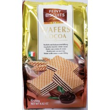 Wafers cocoa 250g 10 st